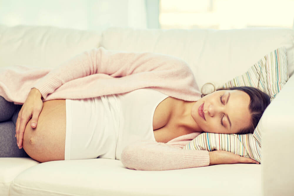spánok v tehotenstve