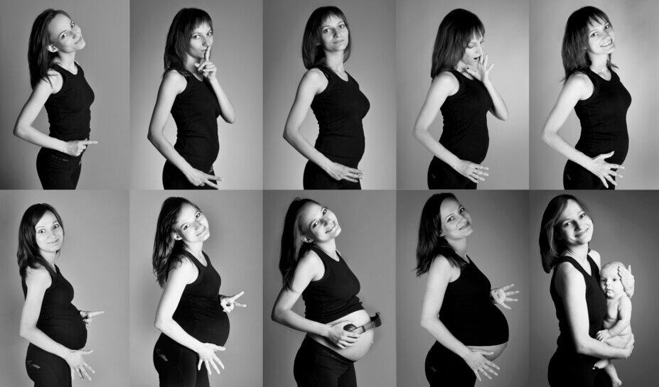 tehotnstvo mesiac po mesiaci